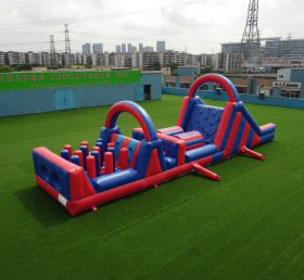 T7-517 Funny inflatable combos obstacle course party rentals for team events