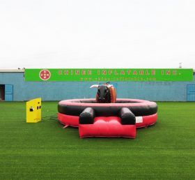 T11-553B Funny mechanical bull riding inflatable sport game kids party rental
