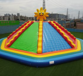 T11-1315 Big party inflatable games climbing wall for kids and adult