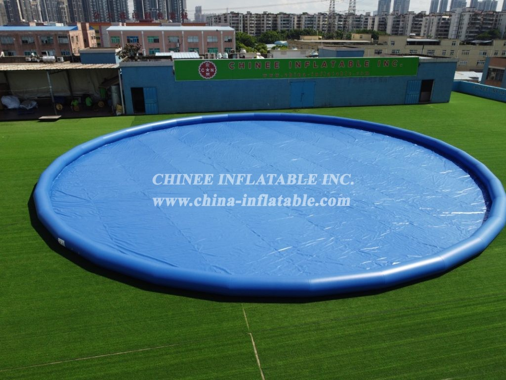 Pool3-010 Inflatable big pool with thick material for kids