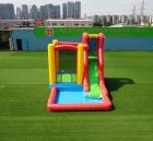 T8-3808 Inflatable water slide with pool kids bounce castle small combo slide