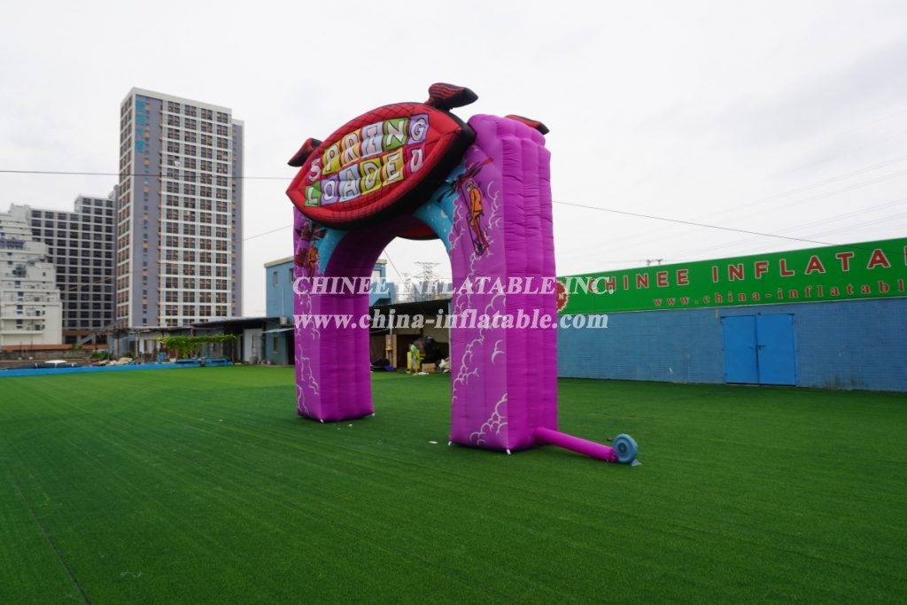 Arch2-390 Inflatable Arch for commercial use customized color and printing