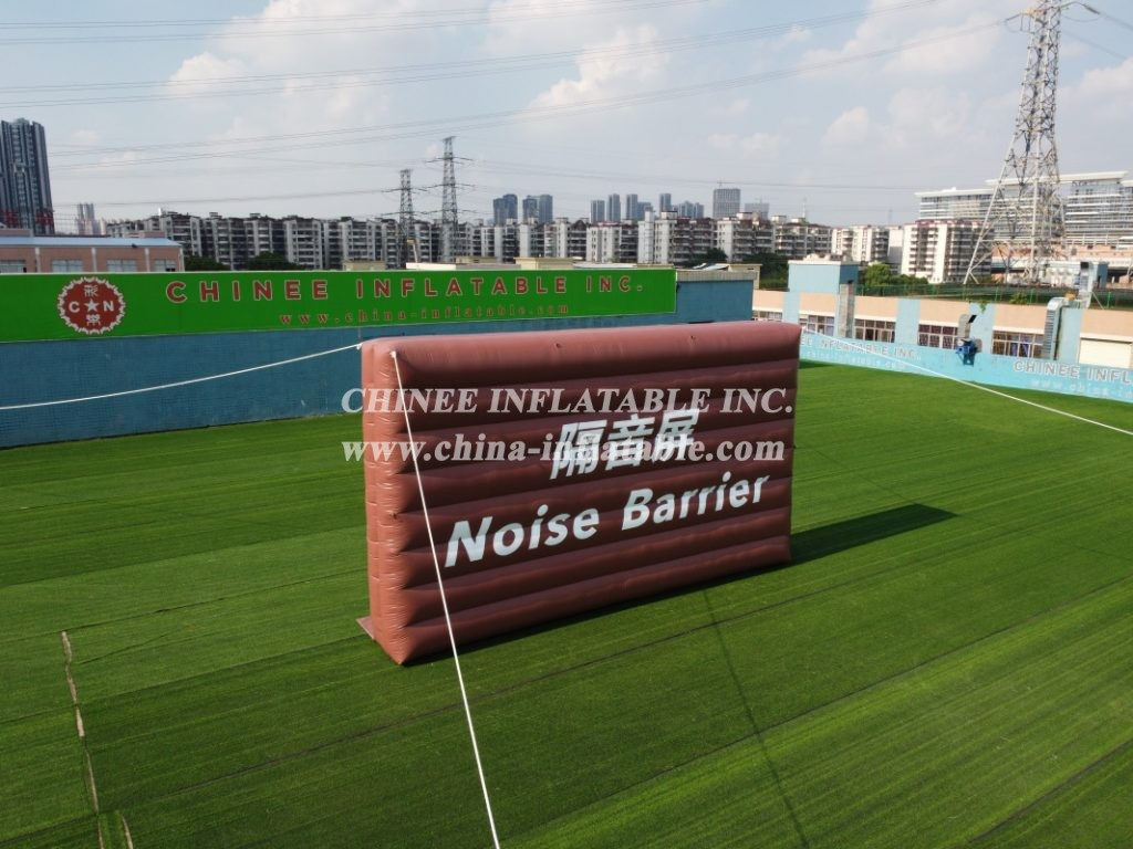 SI1-021  Outdoor inflatable noise barrier portable noise control wall