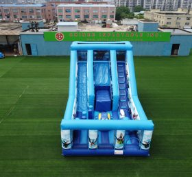 T8-3811 Inflatable Dry Slide How to Train Your Dragon theme Inflatable park for kids playground castle