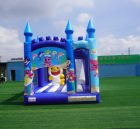 T5-1002 Baby shark bouncy castle combo slide outdoor kids jumping castle
