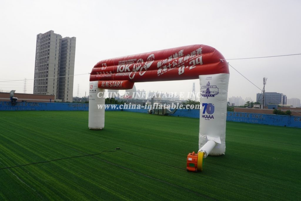 Arch2-391 Outdoor inflatable arch advertising arch marathon finish arch
