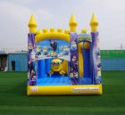 T5-1002C Minions  bouncy castle combo slide outdoor kids jumping castle