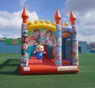 T5-1002B cocomelon  bouncy castle combo slide outdoor kids